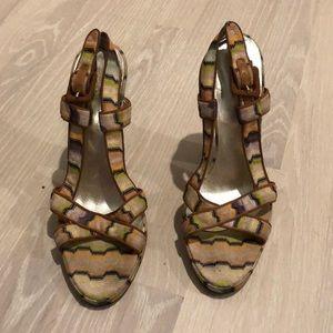 Missoni Heels, size 39.5